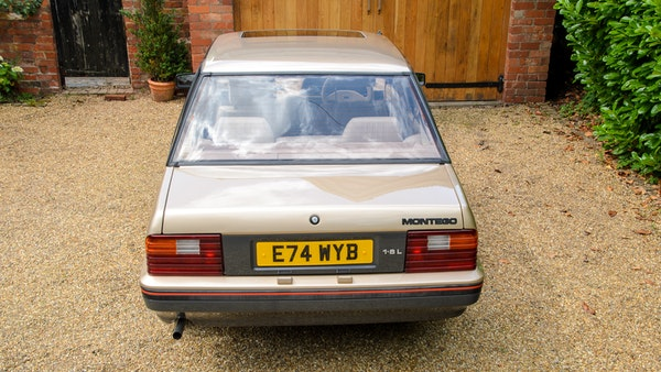 1988 Austin Rover Montego 1.6L For Sale (picture 12 of 114)