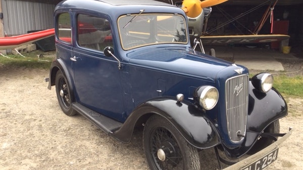 1936 Austin Seven Fixed Head Ruby Saloon For Sale (picture 3 of 35)