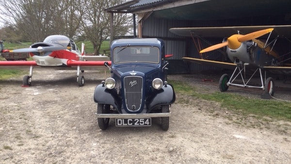 1936 Austin Seven Fixed Head Ruby Saloon For Sale (picture 1 of 35)