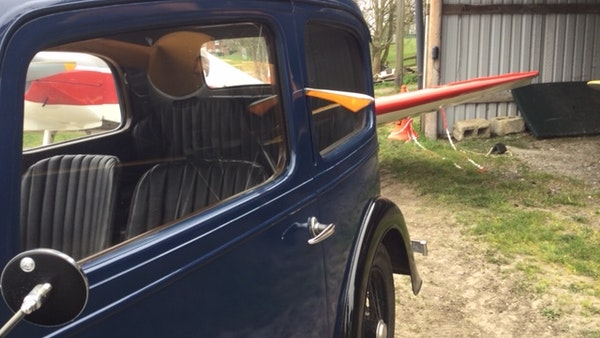 1936 Austin Seven Fixed Head Ruby Saloon For Sale (picture 8 of 35)