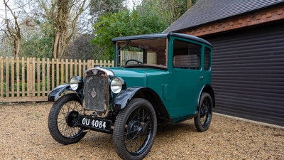 RESERVE LOWERED! - 1929 Austin Seven RK aluminium-bodied saloon