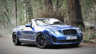 2010 Bentley Continental GTC Supersports