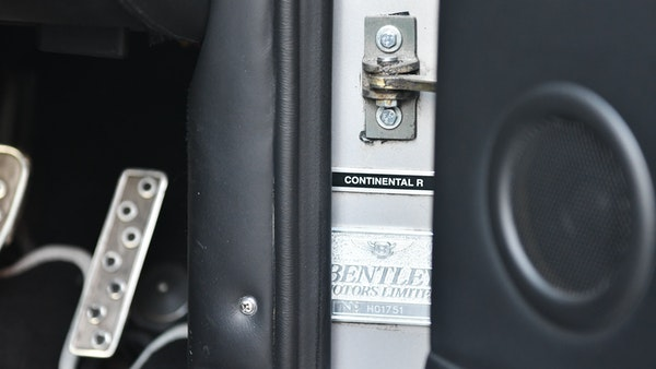 2001 Bentley Continental R Mulliner For Sale (picture 47 of 144)