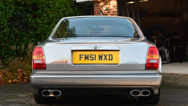 2001 Bentley Continental R Mulliner For Sale (picture 7 of 144)