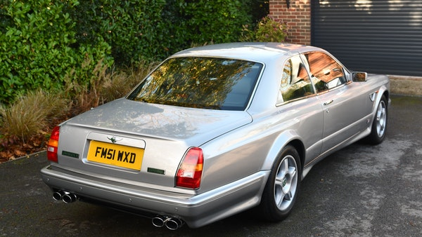 2001 Bentley Continental R Mulliner For Sale (picture 8 of 144)