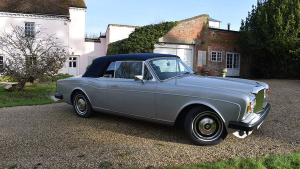 RESERVE LOWERED! - 1982 Bentley Corniche Mulliner Convertible For Sale (picture 10 of 73)