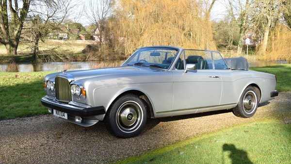 RESERVE LOWERED! - 1982 Bentley Corniche Mulliner Convertible For Sale (picture 3 of 73)