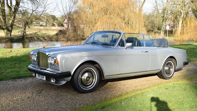 1982 Bentley Corniche Mulliner Convertible