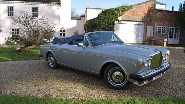 RESERVE LOWERED! - 1982 Bentley Corniche Mulliner Convertible For Sale (picture 1 of 73)