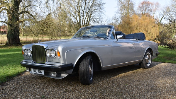 RESERVE LOWERED! - 1982 Bentley Corniche Mulliner Convertible For Sale (picture 6 of 73)