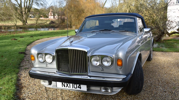 RESERVE LOWERED! - 1982 Bentley Corniche Mulliner Convertible For Sale (picture 11 of 73)