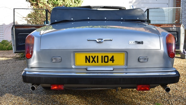 RESERVE LOWERED! - 1982 Bentley Corniche Mulliner Convertible For Sale (picture 12 of 73)