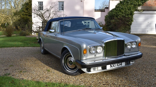 RESERVE LOWERED! - 1982 Bentley Corniche Mulliner Convertible For Sale (picture 8 of 73)