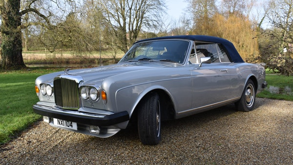 RESERVE LOWERED! - 1982 Bentley Corniche Mulliner Convertible For Sale (picture 9 of 73)