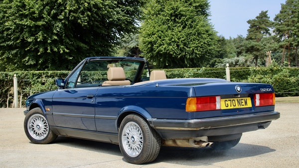 NO RESERVE! - 1989 BMW 320i Convertible For Sale (picture 21 of 147)