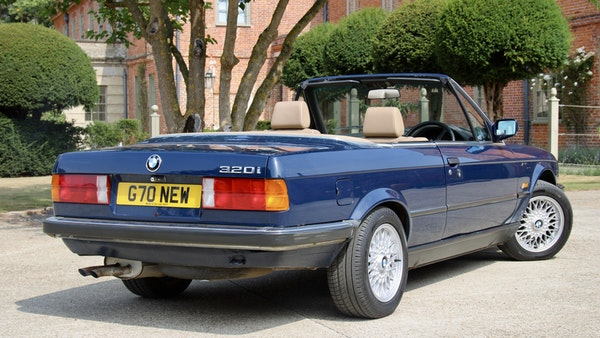 NO RESERVE! - 1989 BMW 320i Convertible For Sale (picture 57 of 147)