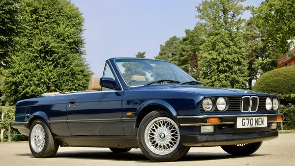 NO RESERVE! - 1989 BMW 320i Convertible For Sale (picture 1 of 147)