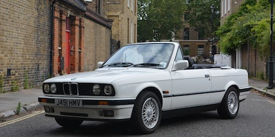 1991 BMW 320i Convertible