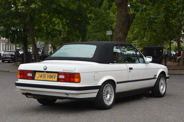1991 BMW 320i Convertible For Sale (picture 25 of 153)