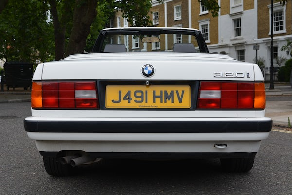 1991 BMW 320i Convertible For Sale (picture 13 of 153)