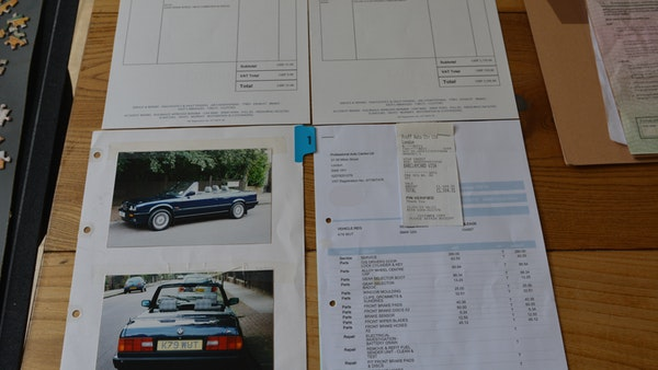 1993 BMW 320i Convertible For Sale (picture 156 of 161)