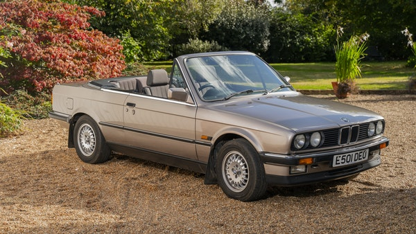 1987 BMW E30 325i convertible For Sale (picture 15 of 238)