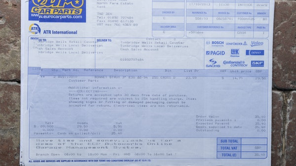 1987 BMW E30 325i convertible For Sale (picture 225 of 238)