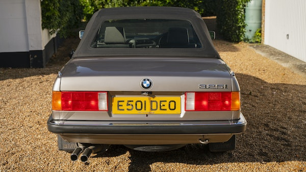 1987 BMW E30 325i convertible For Sale (picture 31 of 238)