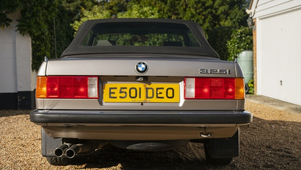 1987 BMW E30 325i convertible For Sale (picture 30 of 238)