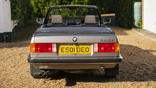1987 BMW E30 325i convertible For Sale (picture 22 of 238)