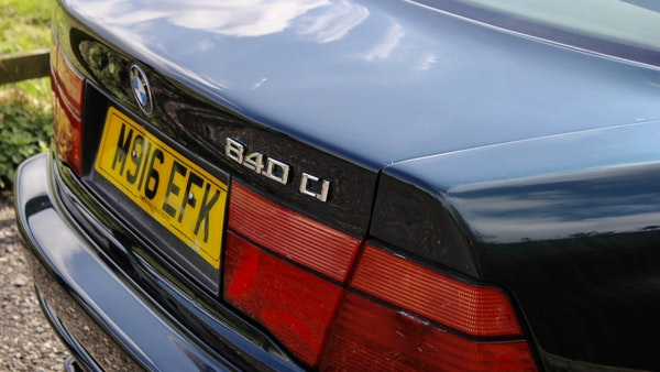 1994 BMW 840Ci For Sale (picture 70 of 102)