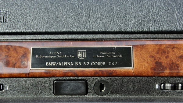 1997 BMW Alpina B3 3.2 For Sale (picture 39 of 90)