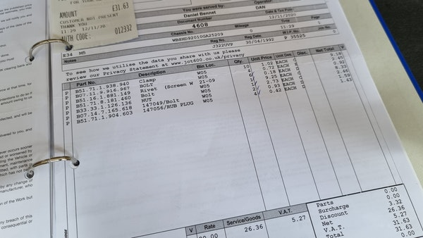 1992 BMW E34 M5 For Sale (picture 171 of 202)