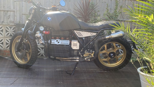 1984 BMW K100 flat-tracker For Sale (picture 5 of 57)