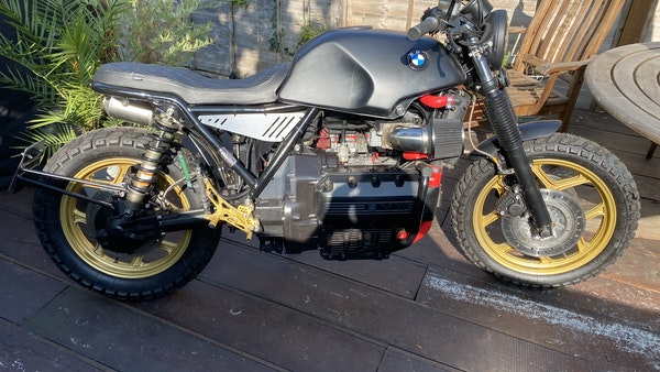 1984 BMW K100 flat-tracker For Sale (picture 3 of 57)