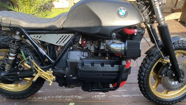1984 BMW K100 flat-tracker For Sale (picture 13 of 57)