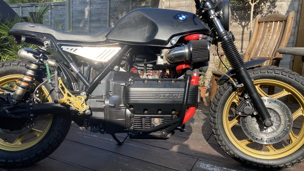 1984 BMW K100 flat-tracker For Sale (picture 9 of 57)