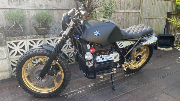 1984 BMW K100 flat-tracker For Sale (picture 1 of 57)