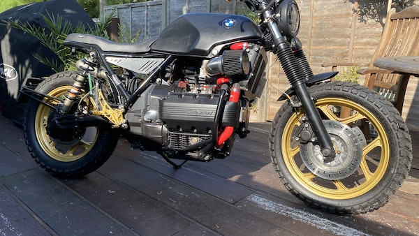 1984 BMW K100 flat-tracker For Sale (picture 14 of 57)