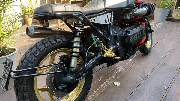 1984 BMW K100 flat-tracker For Sale (picture 6 of 57)