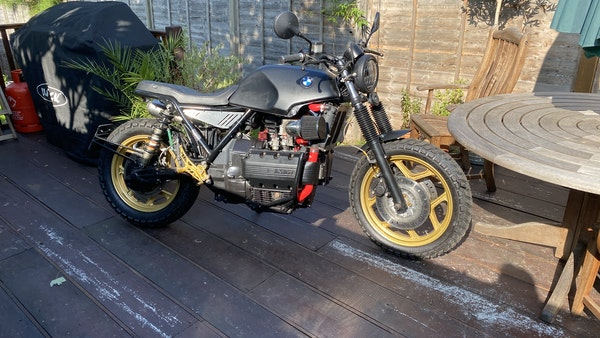 1984 BMW K100 flat-tracker For Sale (picture 10 of 57)