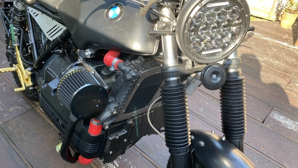 1984 BMW K100 flat-tracker For Sale (picture 15 of 57)