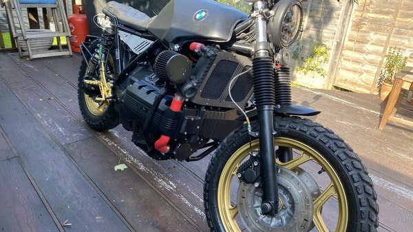 1984 BMW K100 flat-tracker For Sale (picture 12 of 57)