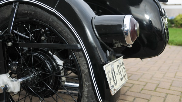 1953 BMW R68 with Royal Seitenwagen Sidecar For Sale (picture 72 of 99)