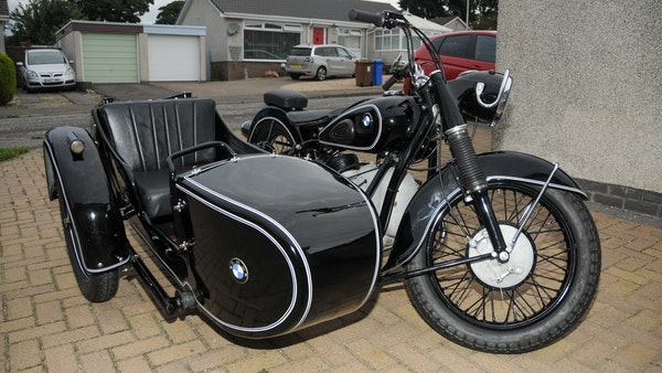 1953 BMW R68 with Royal Seitenwagen Sidecar For Sale (picture 13 of 99)
