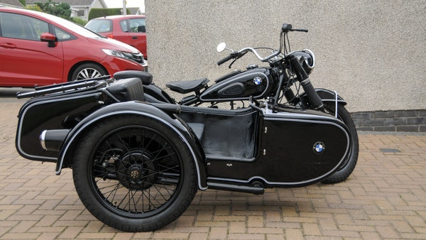 1953 BMW R68 with Royal Seitenwagen Sidecar For Sale (picture 5 of 99)