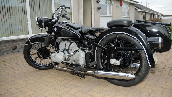 1953 BMW R68 with Royal Seitenwagen Sidecar For Sale (picture 15 of 99)