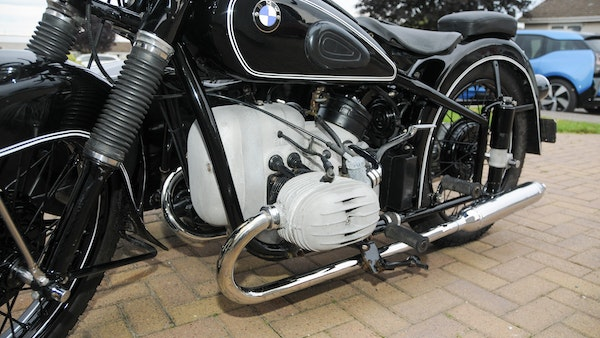 1953 BMW R68 with Royal Seitenwagen Sidecar For Sale (picture 62 of 99)