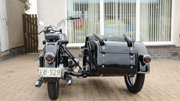 1953 BMW R68 with Royal Seitenwagen Sidecar For Sale (picture 4 of 99)