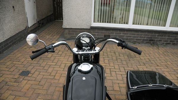 1953 BMW R68 with Royal Seitenwagen Sidecar For Sale (picture 38 of 99)